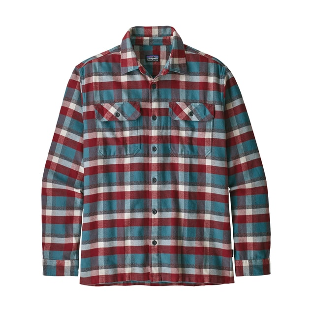 Patagonia M´s L/S Fjord Flannel Shirt bei Sport Schuster München