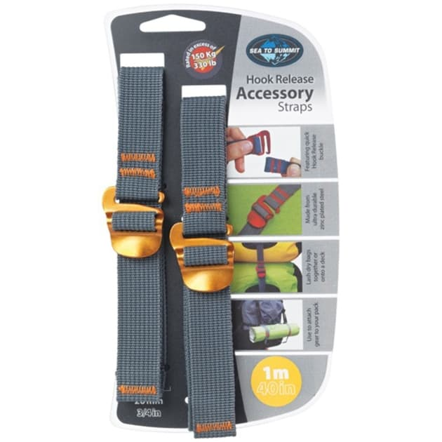 Sea to Summit Tie Down Accessory Strap 20mm with Hook 1.5m bei Sport Schuster München
