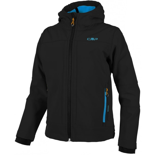 BOY SOFTSHELL JACKET FIX HOOD