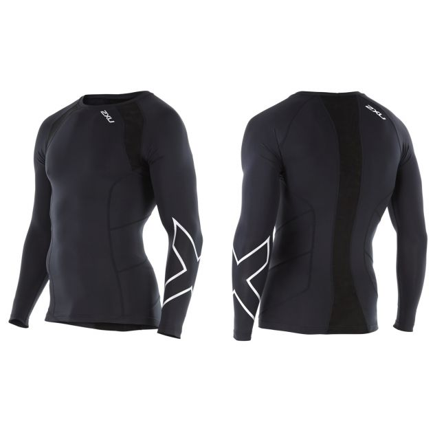 Mens L/S Crew Neck Compression Top