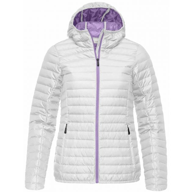 Ladies Cypress Hooded Down Jacket