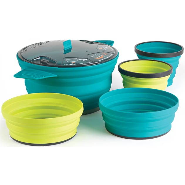 Sea to Summit X-Set: 31 5pc (X-Pot 2.8L, 2 X-Bowl) bei Sport Schuster München