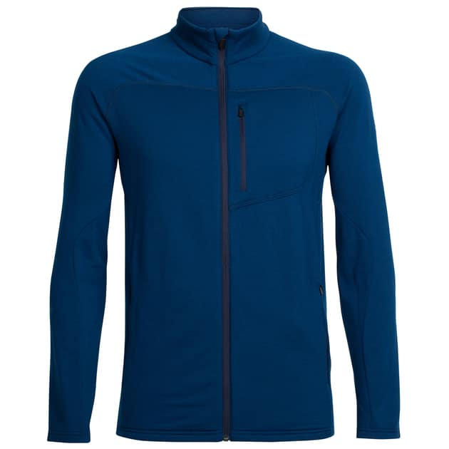 Mens Mt Elliot LS Zip