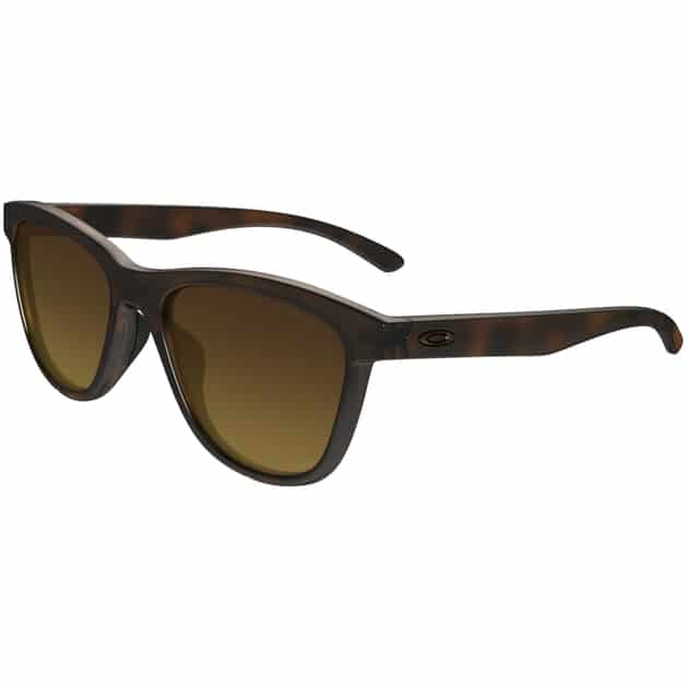 Oakley Sonnenbrille Moonlighter, polarized, UV 400, braun