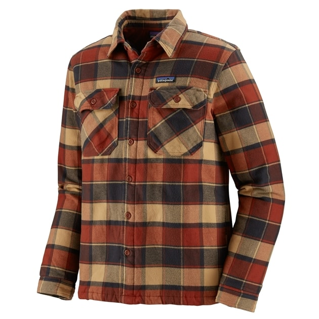 Patagonia M´s Insulated Fjord Flannel Jacket bei Sport Schuster München