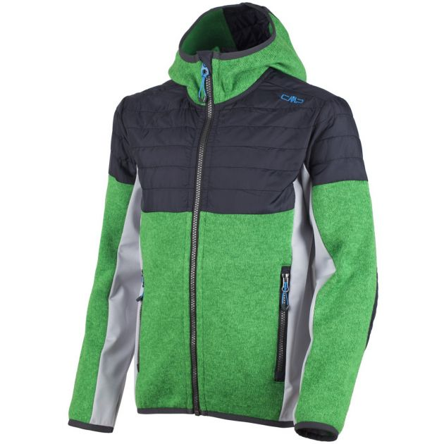BOY FIX HOOD HYBRID JACKET