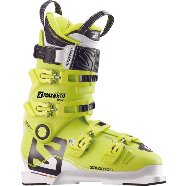 Image of Salomon Herren (Lime 25 5 MP ) / Skischuhe Custom Race (Lime / 25,5) - Skischuhe