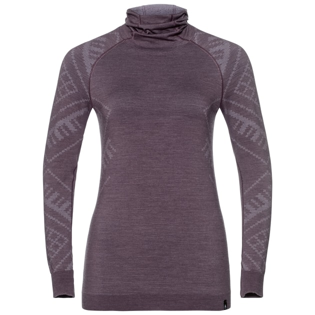 Odlo NATURAL Kinship Warm SUW TOP with Facemask l/s W bei Sport Schuster München