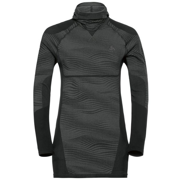 Odlo PERFORMANCE Blackcomb SUW TOP with Facemask l/s M bei Sport Schuster München