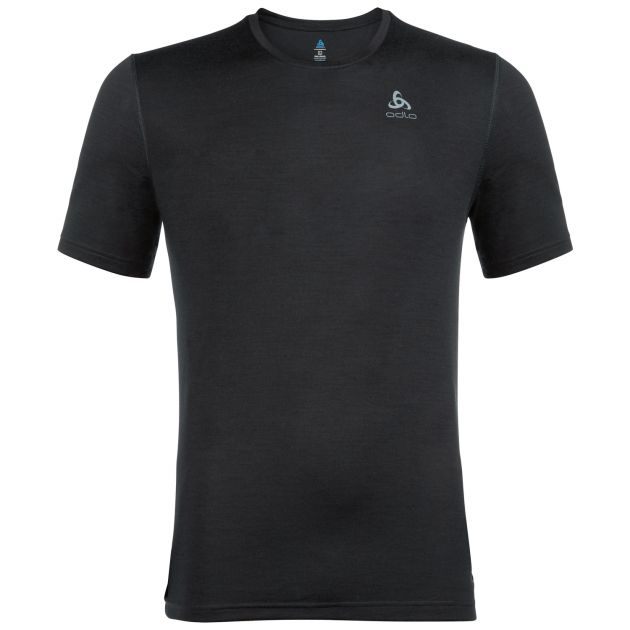 Odlo Natural 100% Merino Warm Bl Top Crew Neck S/S Men bei Sport Schuster München