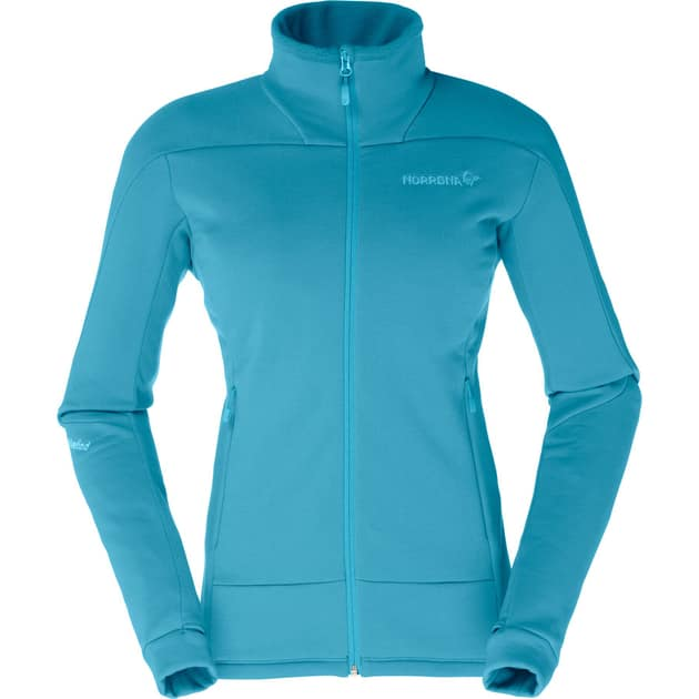 Norröna falketind Power Stretch Pro Jacket Women Damen (Hellblau S INT ) | Eroe