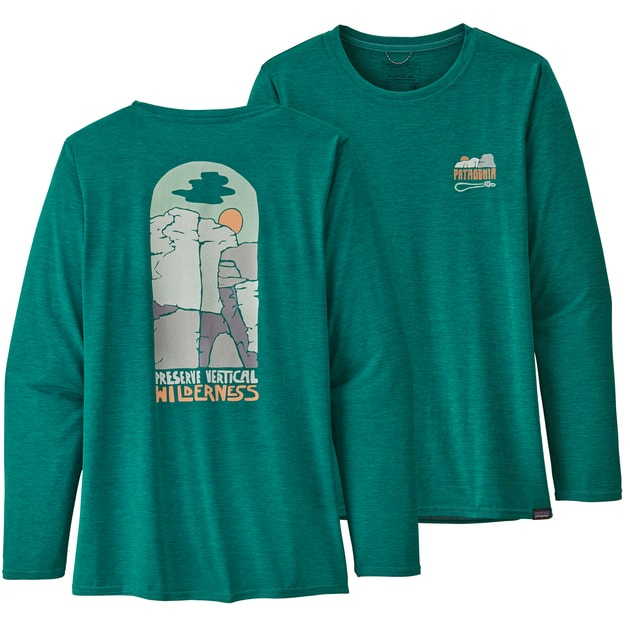 Patagonia W's LS Capilene Cool Daily Graphic Shirt bei Sport Schuster München