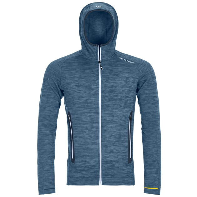 Ortovox Fleece Light Melange Hoody Men bei Sport Schuster München