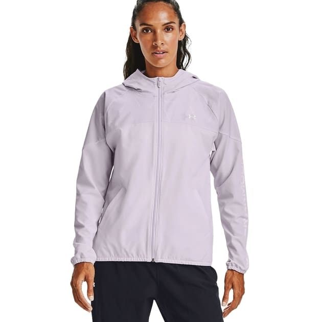 Under Armour Woven Printed Hooded Jacket bei Sport Schuster München