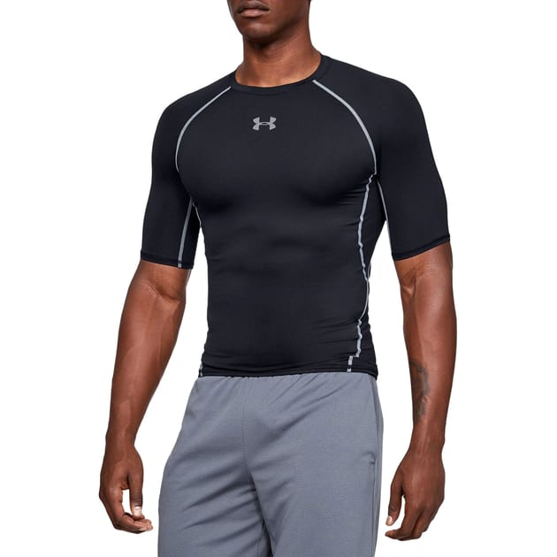 Under Armour HG Armour Fitted SS Tee bei Sport Schuster München
