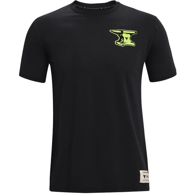 Under Armour Project Rock Wrecking Crew SS Tee bei Sport Schuster München