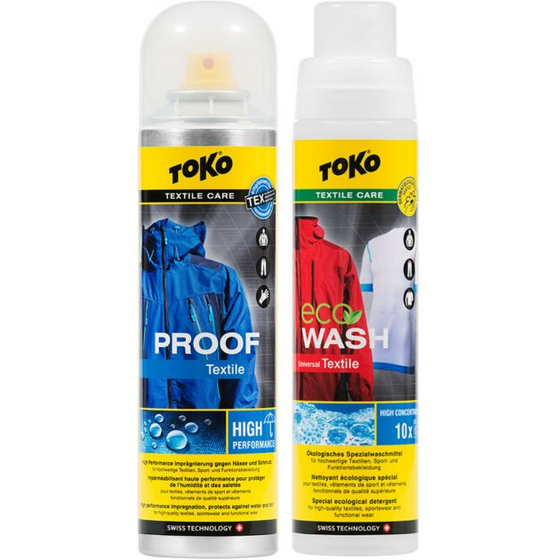Toko Duo Pack Textile Proof & Eco Textil Wash bei Sport Schuster München