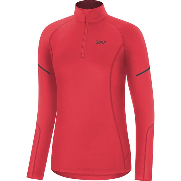 GORE WEAR M Damen Mid Long Sleeve Zip Shirt bei Sport Schuster München